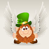 Angel Leprechaun Royalty Free Stock Photography
