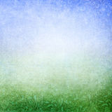 Green blue abstract meadow background Stock Images