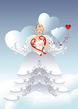 Angel of love Stock Photos