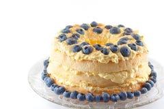 Angel Lush Cake hecho en casa Fotos de archivo