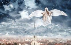 Angel is Making Stars Stock Image