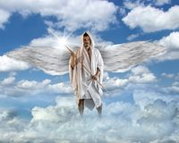 Angel is making Stars Stock Photos