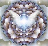 Angel Mandala stock illustratie