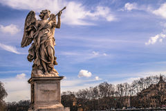 Angel Marble Statue Stock Images