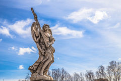 Angel Marble Statue Stock Photos