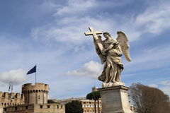Angel Marble Statue Royalty Free Stock Image