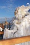 Angel Masquerador in Venetië Stock Foto's