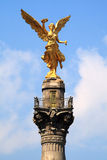 Angel. Mexico City Independence Angel in Paseo de la Reforma Stock Photography