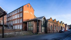 Angel Mill regeneration project in Westbury, Wiltshire, UK. On 17 January 2019 royalty free stock photos