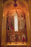Angel Mosaic Shrine Immaculate Conception Stock Photos