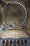 Angel Mosaics and dome of Hagia Sophia Royalty Free Stock Image