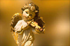 Angel of music Stock Photography