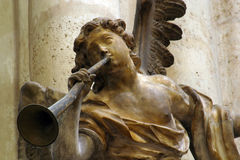 Angel Musician royalty free stock photo