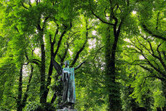 The Angel from the mystery old Prague Cemetery, Czech Republic Royalty Free Stock Photos