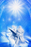Angel of nature stock illustration