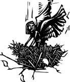 Angel Nest ilustração do vetor