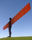Angel of the North. Andel of the North photographed from the East royalty free stock photo