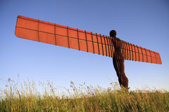 Angel of the North. Antony Gormley's Angel of the North commissioned by Gateshead Council, and funded by the National Lottery. England, United Kingdom Royalty Free Stock Photography