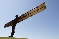 Angel Of The North. The Angel of the North is a famous landmark situated in Newcastle north of England. Its made of iron stock photo