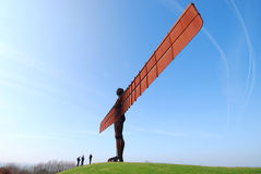 Angel of the North attraction Stock Image