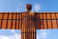 Angel of the North Close Up Stock Photo