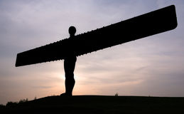 Angel of the North, England Stock Image