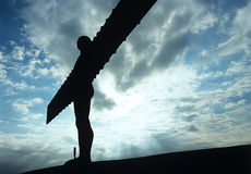 Angel of the North Enland. Stock Photos