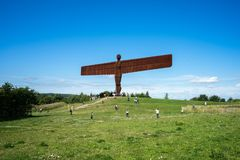 Angel of the North Royalty Free Stock Photos