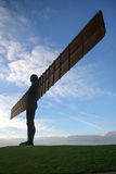 Angel of the North. Gateshead, UK - February 10th 2006: The Angel of the North, scuplture by Antony Gormley Royalty Free Stock Photography