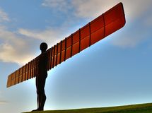 Angel of the North Landmark of Gatheshead Newcastl Stock Photo
