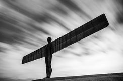Angel of the North, Newcastle Stock Images