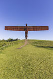 Angel of the North sculpture by Antony Gormley Royalty Free Stock Image