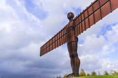 Angel of the North sculpture by Antony Gormley Royalty Free Stock Images