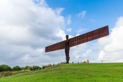 Angel of the North sculpture by Antony Gormley Royalty Free Stock Photos