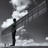 Angel of the north statue Royalty Free Stock Photos