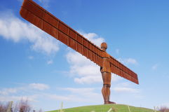 Angel of the North with Wings Royalty Free Stock Photography