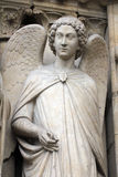 Angel, Notre Dame Cathedral, Paris Royalty Free Stock Photos