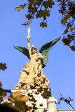 The Angel   from the Old Prague City, Czech Republics Stock Photography