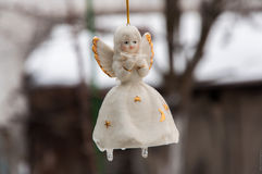 Angel Ornament Fotografie Stock