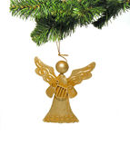 Angel Ornament. A photo of an angel Christmas ornament Stock Images