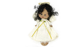 Angel ornament doll Royalty Free Stock Photos