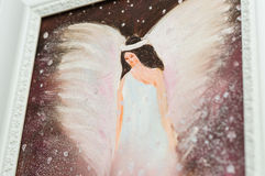 Angel Painting Royalty Free Stock Photos