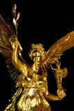 Angel of peace of Munich in Bavaria Stock Photo