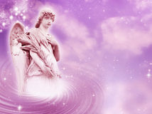 Angel of peace royalty free stock images
