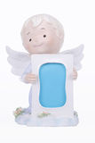 Angel with photo frame Stock Photo