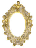 Angel picture frame Royalty Free Stock Image