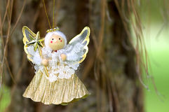 Angel play Royalty Free Stock Photo