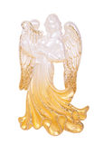 Angel playing the harp Decoration Royalty Free Stock Image