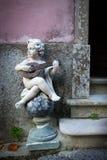 Angel Playing Stock Photo