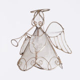 Angel Playing a Trumpet Ornament Royalty Free Stock Images